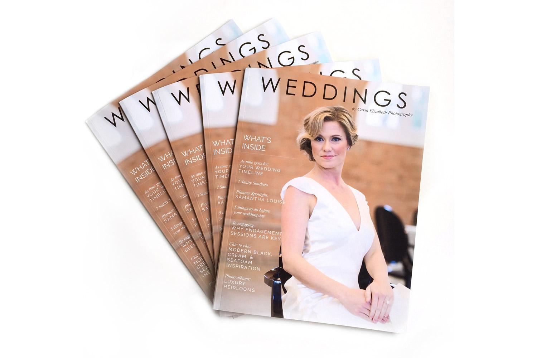 WEDDING PHOTOGRAPHY PORTFOLIO - Magazine cover