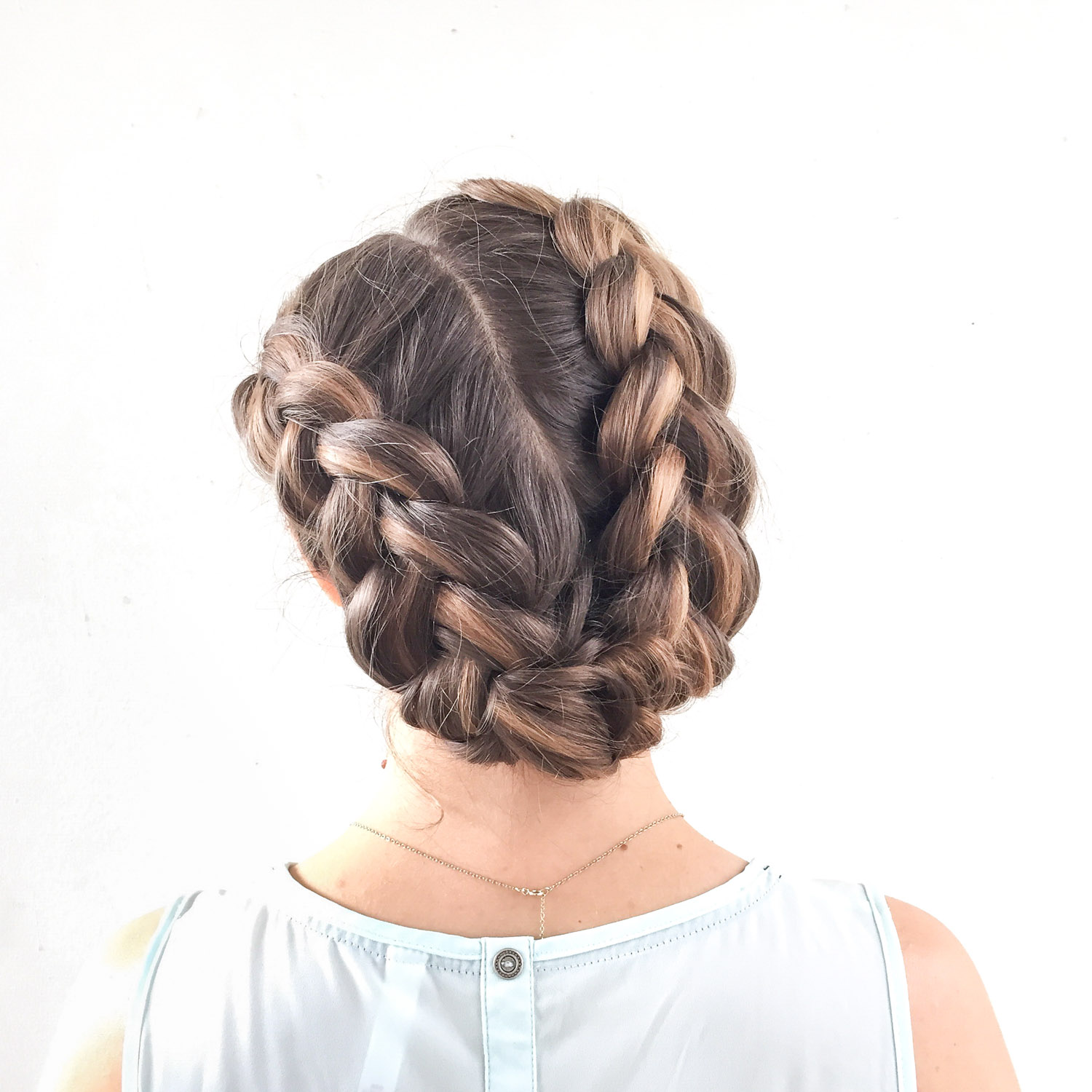 Wedding Hairstyle With Braids: Heather Chapman Braids And Brides Workshop