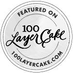 San Diego wedding photographer featured on 100 Layer Cake
